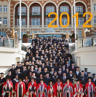 2012年全球毕业盛典
