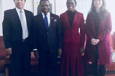 快讯|BSN荷兰商学院全球事务办公室与津巴布韦驻华大使馆举行会谈
