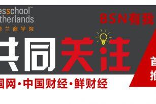 BSN荷兰商学院《共同关注》首期推荐:中国网-鲜财经